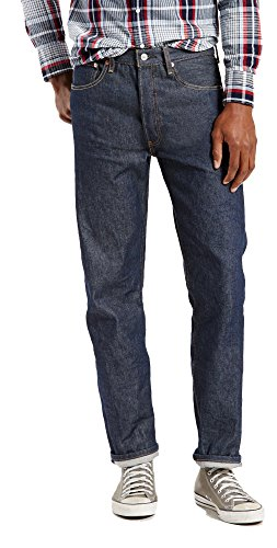 Levi's® Big & Tall Men's Big & Tall 501 Original Shrink-to-Fit Jeans Rigid Shrink To Fit 54W x 29L