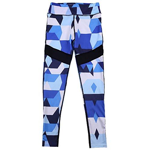 MAYUAN520 Chers Hauts Taille Patchwork Legging Vêtements Femme Slim Pantalon long pantalon confortable étirée Femme Leggings