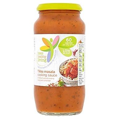 Tesco Healthy Living Tikka Masala Cooking Sauce 500g Amazon