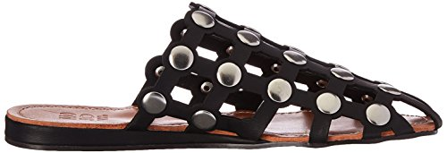 Moxy Wedge Slide Women's Black Mojo Sandal Piazza zcASnSW6