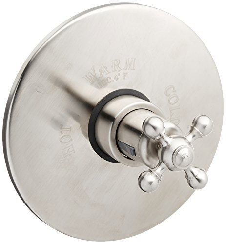 (Rohl AC190X-STN/TO Zz92682004 Cisal Trim Set Only to Concealed Thermostatic Mixer Valve)