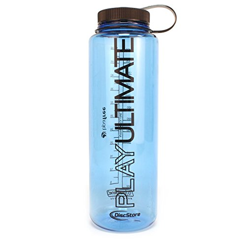 Disc Store Nalgene Ultimate Water Bottle 48oz Play Ultimate - Blue Bottle, Black Lid