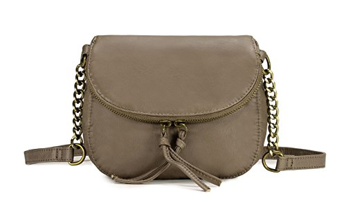 Chain Crossbody Scarleton Strap Khaki Accent Bag Trendy H2001 EwECqITx