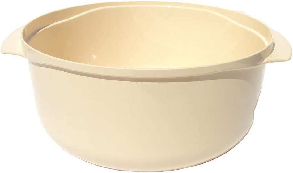 Tupperware Stack Cooker 3 Quart Casserole Dish in Almond Off White