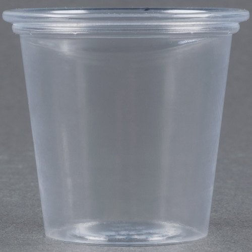 ULTRA CLR PLAS SOUFFLE CUP 1.25OZ CLE 20/250 by SOLO Cup Company
