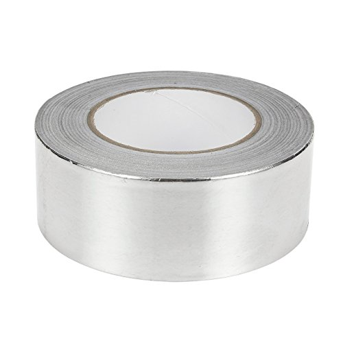 1 Piece Aluminum Foil Tape - All-Purpose Multi-Surface Silver Adhesive Duct Tape Equipment Repair, Industrial Work - 55 yards