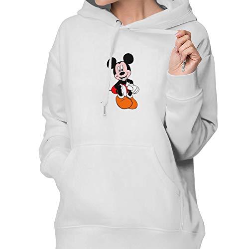 Sakanpo Mickey Mouse Women's Hoodie Sweatshirt with Pocket XXL ()