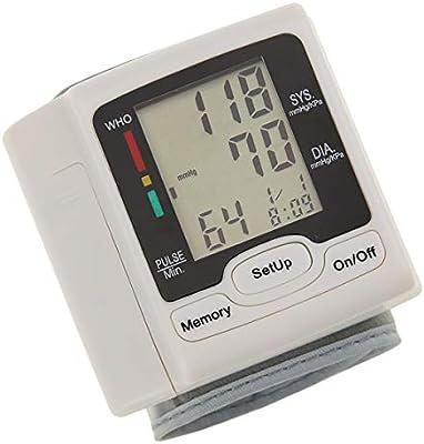 Nosii Medidor de tonómetro automático para Monitor de presión Arterial Digital de muñeca de atención médica para medir la frecuencia de Pulso