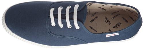 Azul Lona Tela Aceite Zapatillas Victoria de Unisex 6613 Inglesa 0qxwS57O