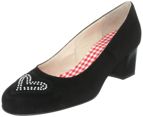Diavolezza Women 6052 Closed-Toe Pumps Black FAU99C