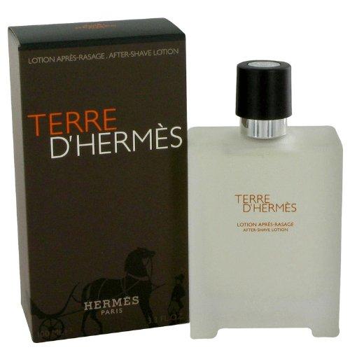 Terre D'Hermes by Hermes After Shave Lotion 3.4 oz for Men (Terre D Hermes After Shave compare prices)