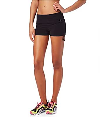 Aeropostale Womens LLD Ruched Knit Athletic Workout Shorts 001 XS