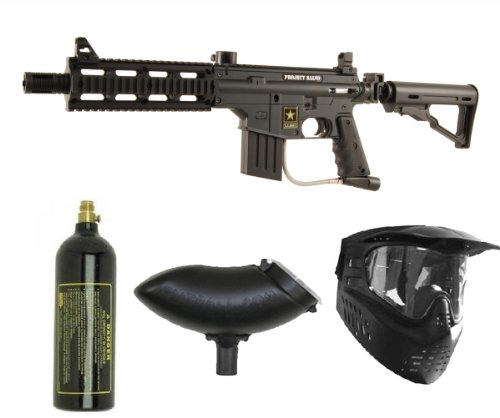 (US Army Project Salvo Paintball Marker Gun 3Skull Package)