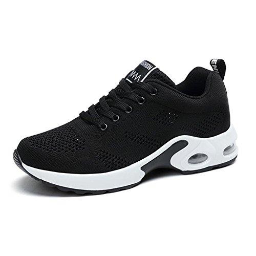 candy88レディーススポーツシューズ メンズ靴 おしゃれ アウトドア 運動 滑り止め 通気性  耐久性 履き心地抜群 お出かけ 旅行 (38(24.0cm), レッド)