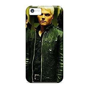 Iphone 5c WhA5800mszO Support Personal Customs Stylish My Chemical Romance Band Skin Bumper Hard Cell-phone Cases -AaronBlanchette