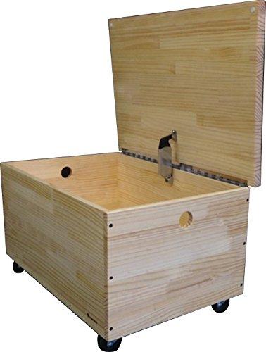 日本国内生産 高さ37cm座りやすい収納BOX~「ラジアータパインコッフェルベンチSシリーズ(中)」《手づくり木のおもちゃHUG HUG(はぐはぐ)》 B010O4G28A