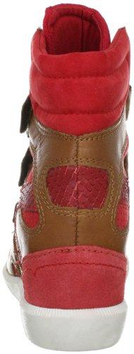 Bullboxer 380503 MA133805030N-A10 - Zapatillas fashion de ante para mujer Beige