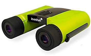 Levenhuk Rainbow 8x25 Orange Binoculars roof prism 8x fogproof waterproof with accessory kit Inc. 67692