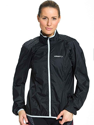 Craft Sportswear Move Cycling Rain Jacket Women (Black, ()
