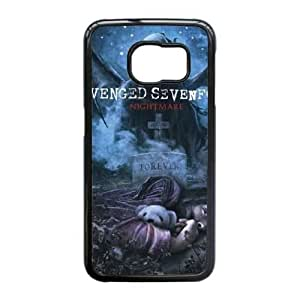 Samsung Galaxy S6 Edge Phone Case Black Avenged Sevenfold TYTH3811074