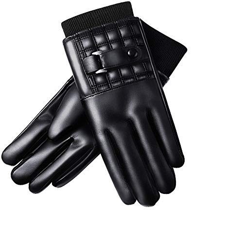 Woisha Winter Thickening Plus Velvet Warm Waterproof Windproof Touch Screen Outdoor Cycling Motorcycle Gloves Men