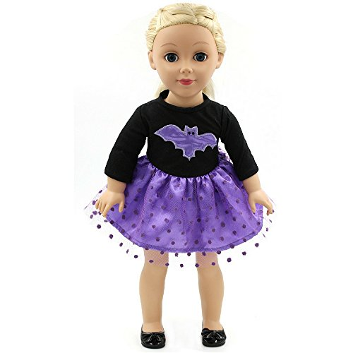 Doll Costume - Bat Doll - Inspired by Batman - For 18 inch American Dolls