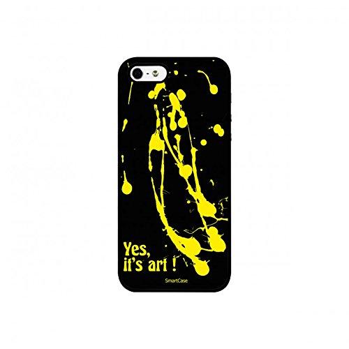 Coque + Verre Trempé pour iPhone 5/5S/SE SmartCase® YES IT'S ART