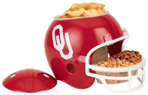 NCAA Oklahoma Sooners Snack Helmet