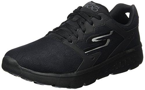 Run de 400 Bbk Zapatillas Go Deporte Accelerate Skechers Negro para Hombre HwX5SvqHF