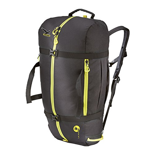 SALEWA Seilrucksack Ropebag XL, Black/Citro, 62 x 32 x 1 cm, 1 Liter, 00-0000004369_91