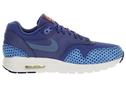 Nike Womens Air Max 1 Ultra Essentials Dk Prpl Dst / Ocn Fg / Lyl Bl / Brgh Scarpa Da Corsa 9 Donne Us