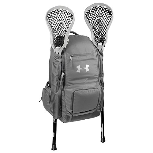 Under Armour UASB-LBP2 Graphite LAX Lacrosse Backpack Gear Bag
