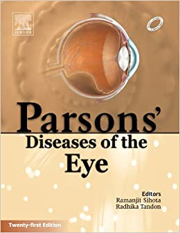 Parson Ophthalmology Book