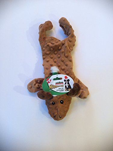 13 Inch Dog Holiday Christmas Skinneeez Extreme Reindeer With Squeaker By (Skinneeez Rope)
