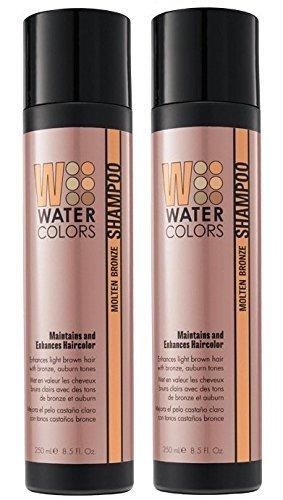 TRESSA WaterColors Molten Bronze Shampoo 8.5 oz (Set of 2...