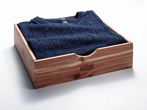 Cedar Green E602 Aromatic Red Cedar Sweater Box, Brown