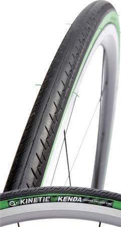 Kinetic by Kurt Road Bike Trainer Tire (Black/Green)