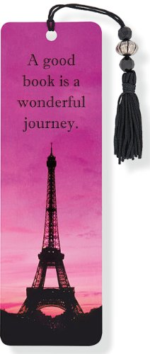 Eiffel Tower Beaded Bookmark