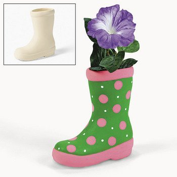 e4033d7c42e5af Design Your Own Ceramic Boot Planters - Crafts for Kids   Design Your Own -  Buy Online in UAE.