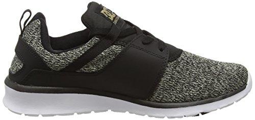 Dark Mujer SE Heathrow Black Shoes 37 Negro DC Zapatillas Used xFI0n6q