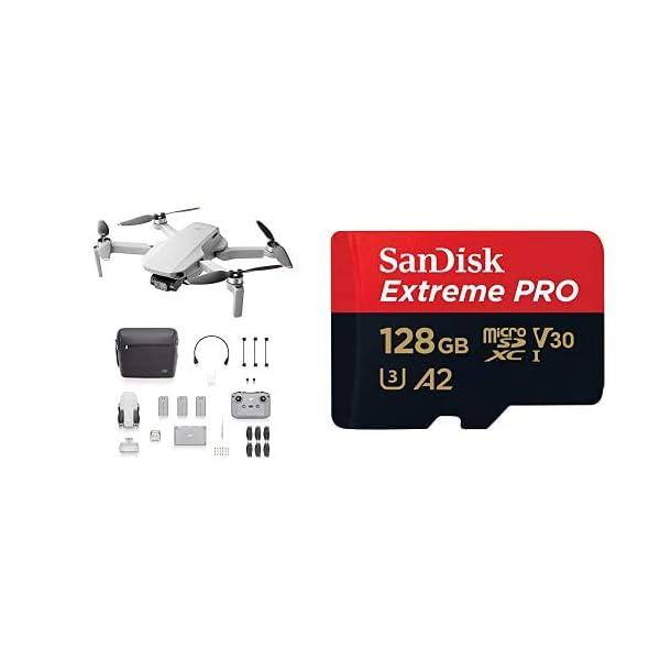 DJI Mini 2 Fly More Combo + SanDisk Extreme Pro Scheda di Memoria microSDXC da 128 GB 1 spesavip