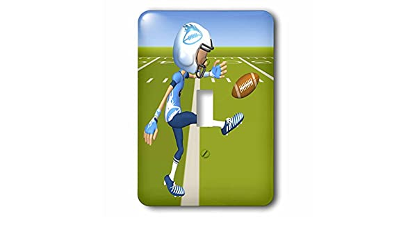 3dRose Lsp/_23434/_1 Football Dad Football Single Toggle Switch