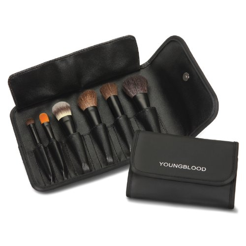 Youngblood Cosmetics 6 Piece Mini Brush Kit, 1 Count 17201