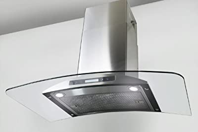 "AKDY New 36"" European Style Wall Mount Stainless Steel Range Hood Vent Touch Control AZ-198KN 36"""