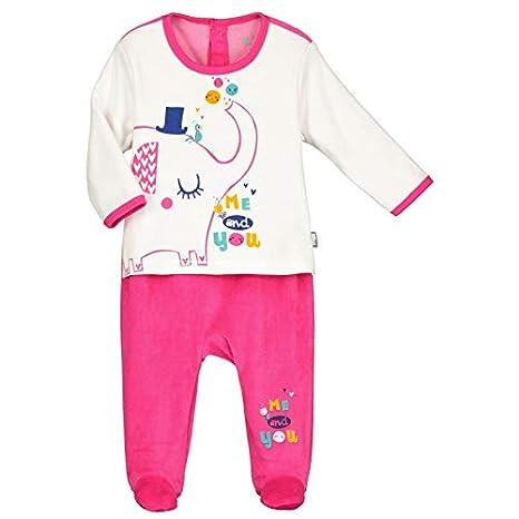 6b080871c59ac Pyjama bébé velours effet 2 pièces Me and You - Taille - 3 mois (62 ...