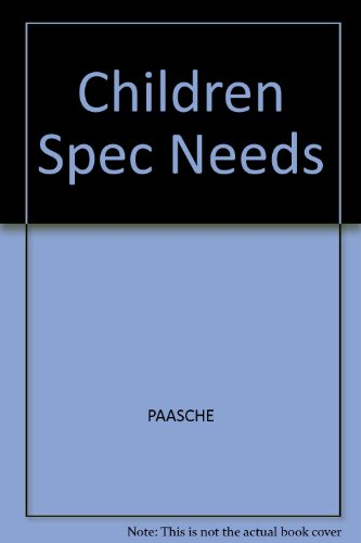 Children With Special Needs in Early Childhood Settings: Identification, Intervention, Mainstreaming
