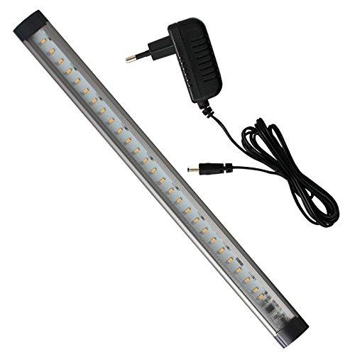 LED Unterbauleuchte 12 Watt dimmbar mit Touch Funktion Rom für Eckmontage LED Lichtleiste ideal als Vitrinenbeleuchtung Regalbeleuchtung