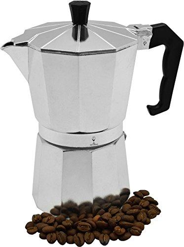 photo Wallpaper of Argon Tableware-Argon Tableware 6 Cup Italian Style Stove Top Espresso-Silver