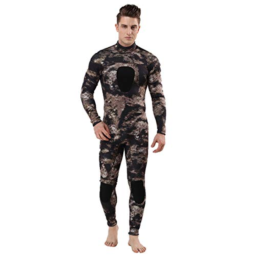 (Vithconl Cloths Womens Mens Full Body Thin Wetsuit, UV Protection Long Sleeves Diving Suit - for Swimming/Scuba Diving/Snorkeling/Surfing- One Piece)