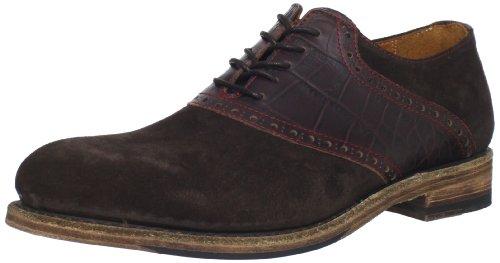 Marty Shoes (Blackstone Men's Marty Saddle Shoe,Dark Brown,45 M EU/11 M US)